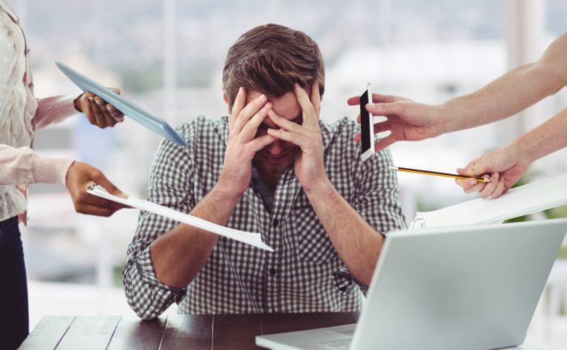 7 dødssynder overfor stressede medarbejdere
